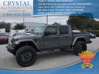 New Chrysler Dodge Jeep Ram models 2020 Jeep Gladiator RUBICON 4X4 Crew Cab for sale in Homosassa, FL