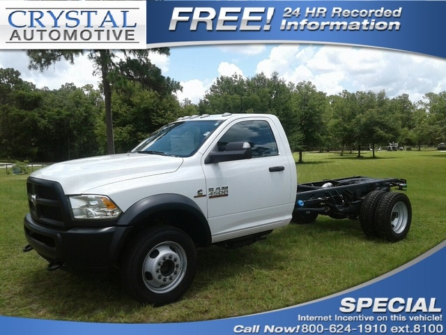 2018 Ram 4500 TRADESMAN CHASSIS REGULAR CAB 4X4 168.5 WB Regular Cab for sale in Homosassa, FL
