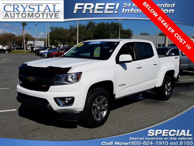 Used 2017 Chevrolet Colorado Z71 Truck Crew Cab for sale in Homosassa, FL at Crystal Chrysler Dodge Jeep
