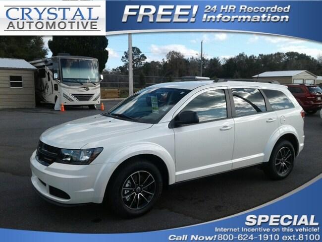 New 2018 Dodge Journey SE Sport Utility for sale in Homosassa, FL at Crystal Chrysler Dodge Jeep