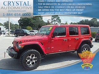 New Chrysler Dodge Jeep Ram models 2020 Jeep Wrangler UNLIMITED RUBICON 4X4 Sport Utility for sale in Homosassa, FL