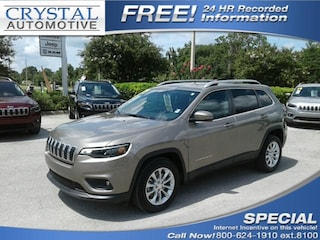 New Chrysler Dodge Jeep Ram models 2019 Jeep Cherokee LATITUDE FWD Sport Utility for sale in Homosassa, FL