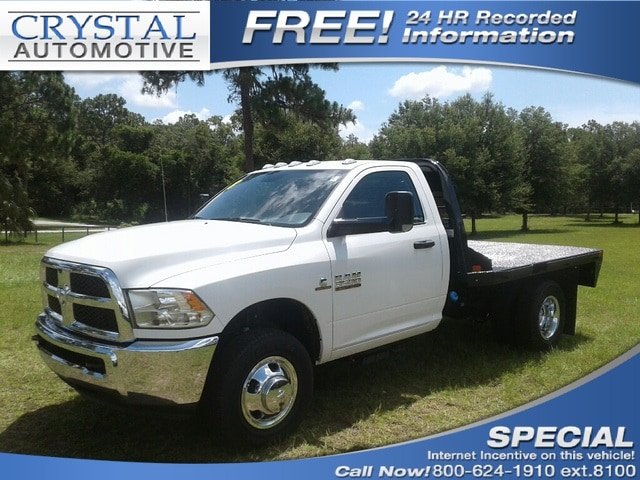 2018 Ram 3500 TRADESMAN CHASSIS REGULAR CAB 4X4 143.5 WB Regular Cab for sale in Homosassa, FL