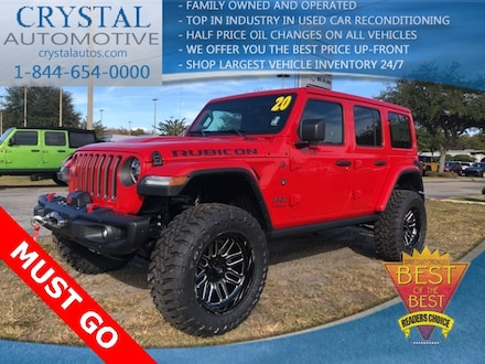 2020 Jeep Wrangler UNLIMITED RUBICON 4X4 Sport Utility for sale in Homosassa, FL