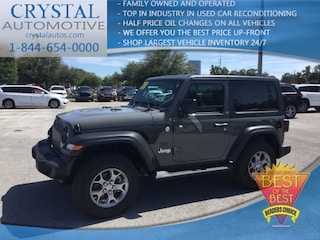 New Chrysler Dodge Jeep Ram models 2020 Jeep Wrangler FREEDOM 4X4 Sport Utility for sale in Homosassa, FL