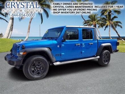 2021 Jeep Gladiator Sport Truck Crew Cab for sale in Homosassa, FL