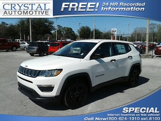 New Chrysler Dodge Jeep Ram models 2018 Jeep Compass SPORT FWD Sport Utility for sale in Homosassa, FL