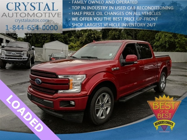 2018 Ford F-150 Lariat Truck SuperCrew Cab for sale in Homosassa, FL