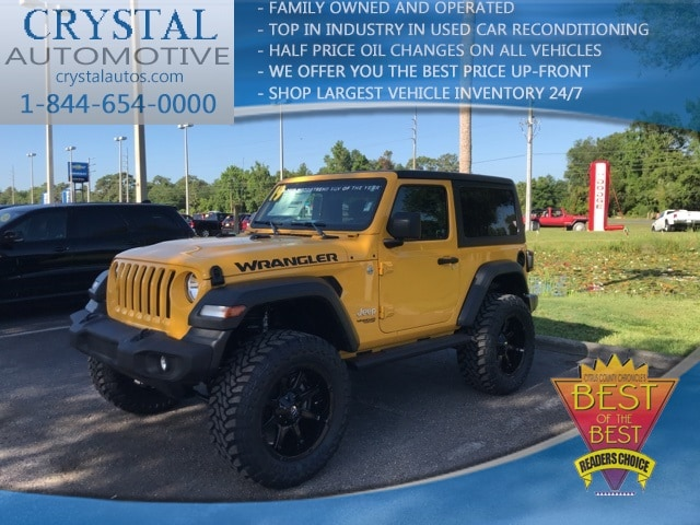 2019 Jeep Wrangler SPORT S 4X4 Sport Utility for sale in Homosassa, FL