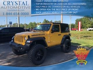 New Chrysler Dodge Jeep Ram models 2019 Jeep Wrangler SPORT S 4X4 Sport Utility for sale in Homosassa, FL