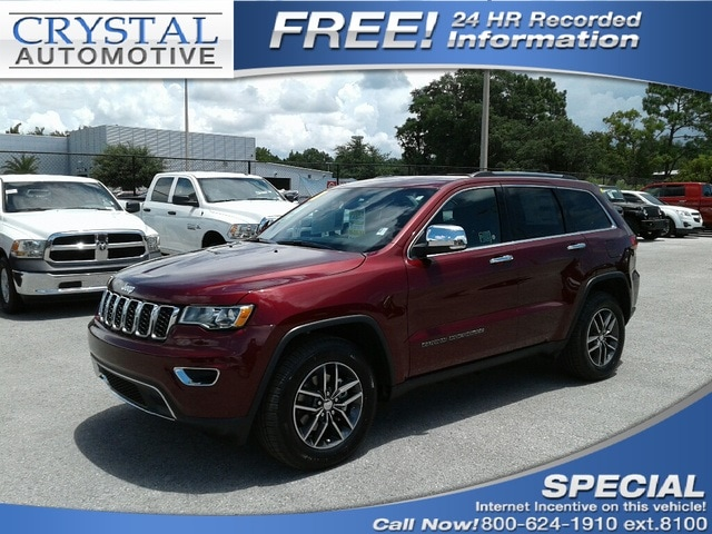 2018 Jeep Grand Cherokee LIMITED 4X2 Sport Utility for sale in Homosassa, FL