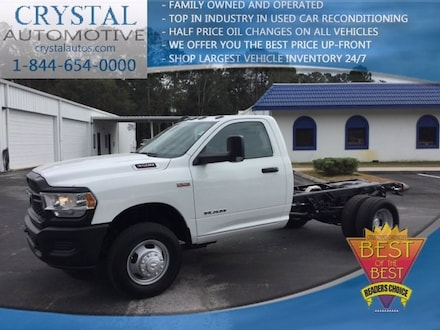 2019 Ram 3500 Chassis Cab 3500 TRADESMAN CHASSIS REGULAR CAB 4X2 143.5 WB Regular Cab for sale in Homosassa, FL