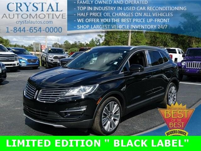 2015 Lincoln MKC Black Label SUV