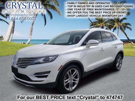 Featured used 2015 Lincoln MKC Reserve SUV for sale in Crystal River, FL