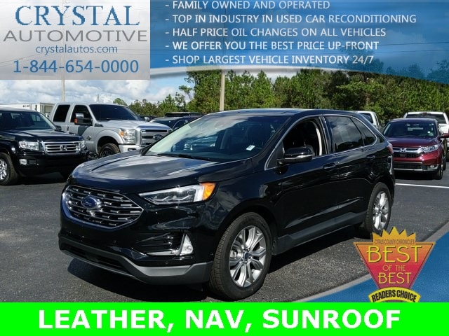 Featured used 2019 Ford Edge Titanium SUV for sale in Crystal River, FL