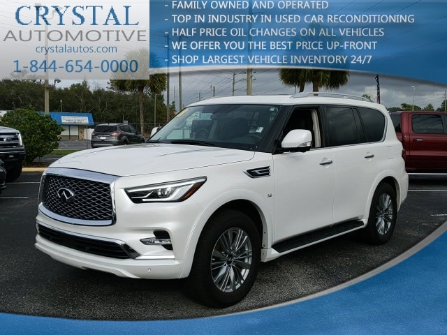 Featured used 2018 INFINITI QX80 Base SUV for sale in Crystal River, FL