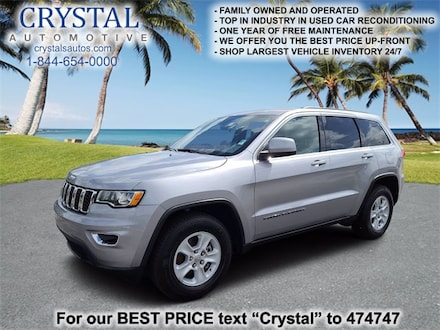 Featured used 2017 Jeep Grand Cherokee Laredo SUV for sale in Crystal River, FL