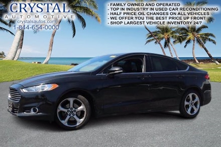 Featured used 2013 Ford Fusion SE Sedan for sale in Crystal River, FL