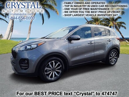 Featured used 2017 Kia Sportage EX SUV for sale in Crystal River, FL