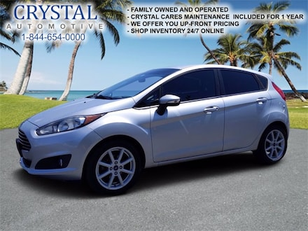 Featured used 2015 Ford Fiesta SE Hatchback for sale in Crystal River, FL