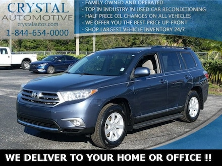 Featured used 2013 Toyota Highlander Base SUV for sale in Crystal River, FL