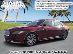 Used 2018 Lincoln Continental Reserve Sedan serving Crystal River, FL