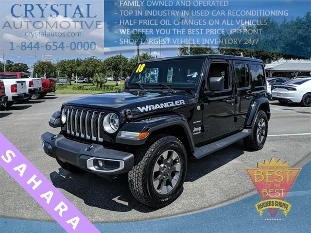 2018 Jeep Wrangler Unlimited Sahara SUV For Sale in Brooksville, FL