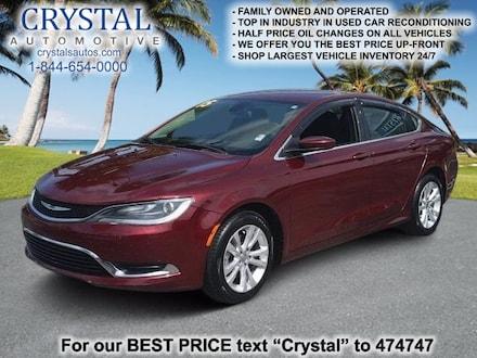2015 Chrysler 200 Limited Sedan For Sale in Brooksville, FL