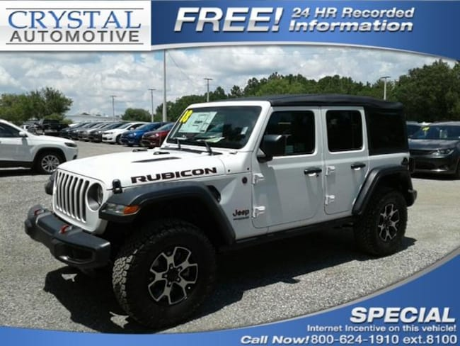 new 2018 jeep wrangler unlimited rubicon 4x4 for sale in brooksville