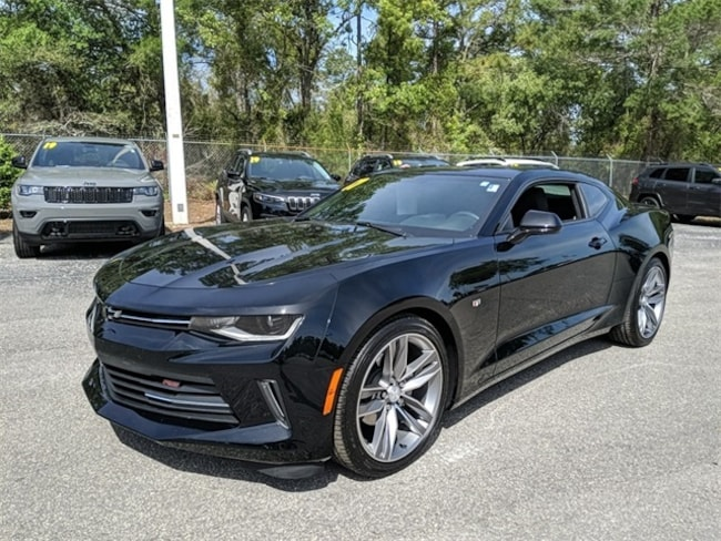 Used 2017 Chevrolet Camaro 1LT Coupe for sale in Brooksville, FL at Crystal Chrysler Dodge Jeep