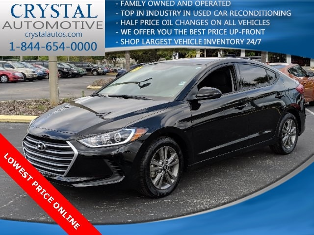 2018 Hyundai Elantra SEL Sedan For Sale in Brooksville, FL