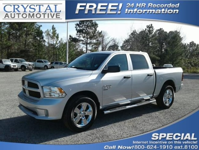 New 2019 Ram 1500 CLASSIC EXPRESS CREW CAB 4X4 5'7 BOX Crew Cab for sale in Brooksville, FL at Crystal Chrysler Dodge Jeep