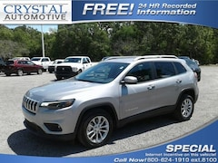 New 2019 Jeep Cherokee LATITUDE FWD Sport Utility for sale in Brooksville, FL