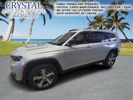 2021 Jeep Grand Cherokee L LIMITED 4X2 Sport Utility For Sale in Brooksville, FL