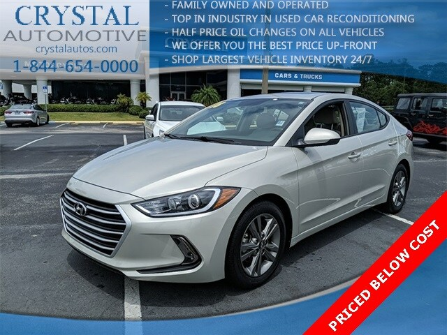 2018 Hyundai Elantra Value Edition Sedan For Sale in Brooksville, FL