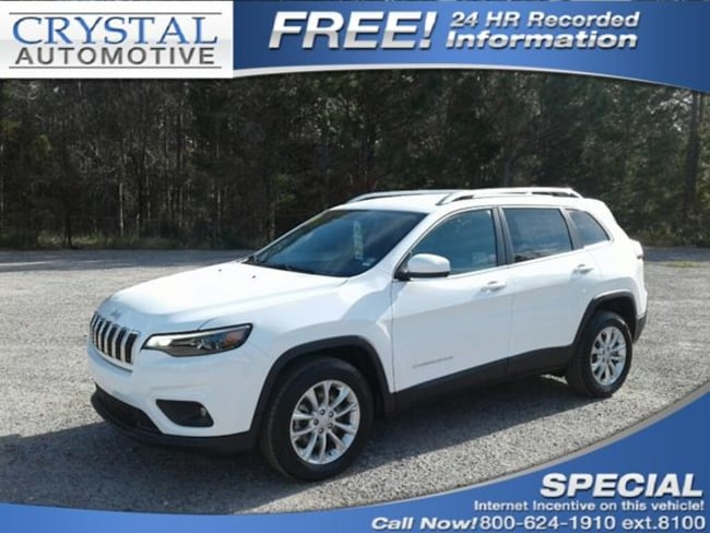 New 2019 Jeep Cherokee LATITUDE FWD Sport Utility for sale in Brooksville, FL at Crystal Chrysler Dodge Jeep
