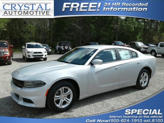 New 2019 Dodge Charger SXT RWD Sedan for sale in Brooksville, FL at Crystal Chrysler Dodge Jeep