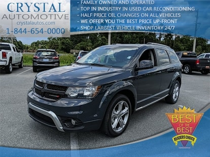 2018 Dodge Journey: Possible Redesign, Changes, Price >> Used 2017 Dodge Journey Crossroad For Sale In Brooksville