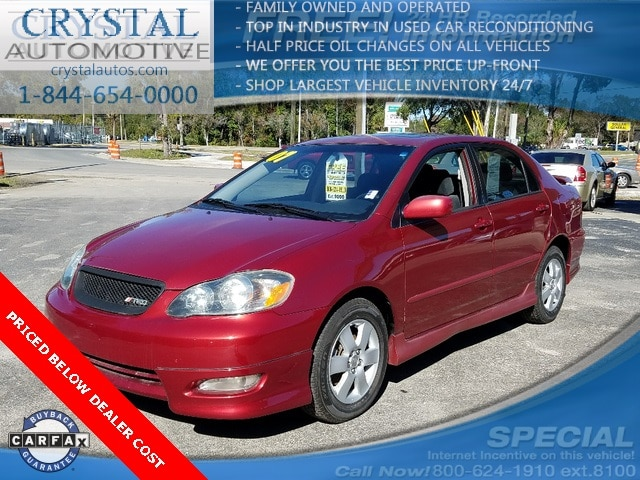 2007 Toyota Corolla S Sedan For Sale in Brooksville, FL
