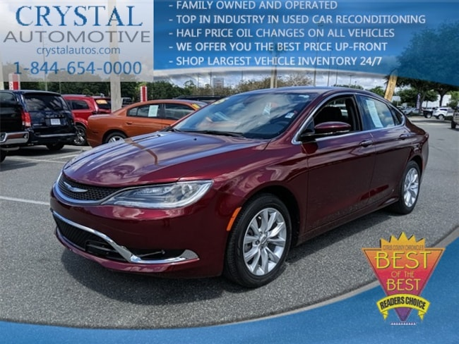2015 Chrysler 200 For Sale >> Used 2015 Chrysler 200 C For Sale In Brooksville Near Tampa Fl