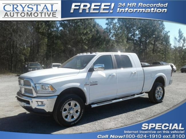 New 2018 Ram 2500 LARAMIE MEGA CAB 4X4 6'4 BOX Mega Cab for sale in Brooksville, FL at Crystal Chrysler Dodge Jeep