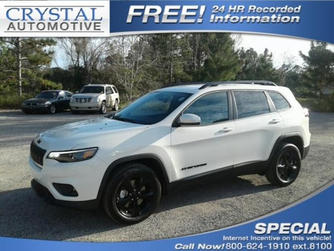 New 2019 Jeep Cherokee ALTITUDE FWD Sport Utility for sale in Brooksville, FL at Crystal Chrysler Dodge Jeep