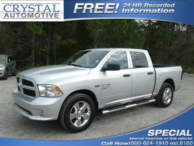 New 2019 Ram 1500 CLASSIC EXPRESS CREW CAB 4X2 5'7 BOX Crew Cab for sale in Brooksville, FL at Crystal Chrysler Dodge Jeep