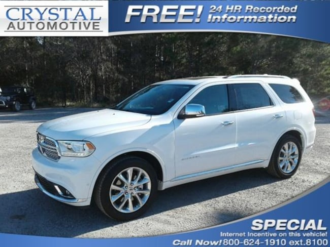 New 2019 Dodge Durango CITADEL RWD Sport Utility for sale in Brooksville, FL at Crystal Chrysler Dodge Jeep