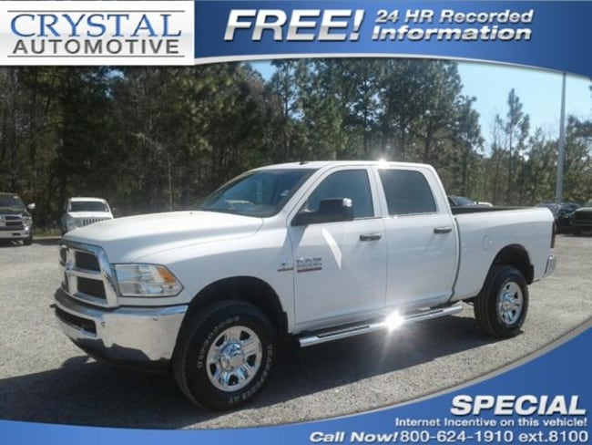 New 2018 Ram 2500 TRADESMAN CREW CAB 4X4 6'4 BOX Crew Cab for sale in Brooksville, FL at Crystal Chrysler Dodge Jeep