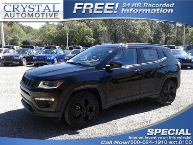 New 2019 Jeep Compass ALTITUDE FWD Sport Utility for sale in Brooksville, FL at Crystal Chrysler Dodge Jeep