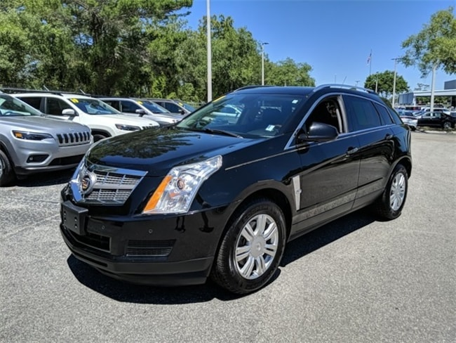 Used 2011 Cadillac SRX Luxury SUV for sale in Brooksville, FL at Crystal Chrysler Dodge Jeep