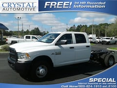 New 2018 Ram 3500 TRADESMAN CREW CAB CHASSIS 4X2 172.4 WB Crew Cab for sale in Brooksville, FL