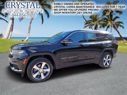 2021 Jeep Grand Cherokee L LIMITED 4X4 Sport Utility For Sale in Brooksville, FL