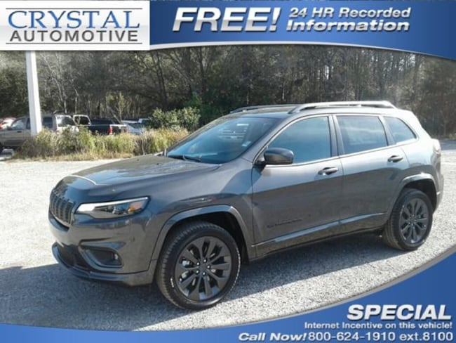 New 2019 Jeep Cherokee HIGH ALTITUDE 4X4 Sport Utility for sale in Brooksville, FL at Crystal Chrysler Dodge Jeep